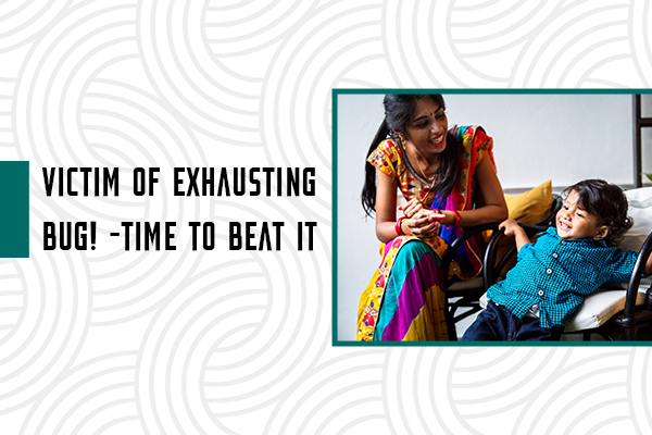 Victim of exhausting bug – time to beat it
